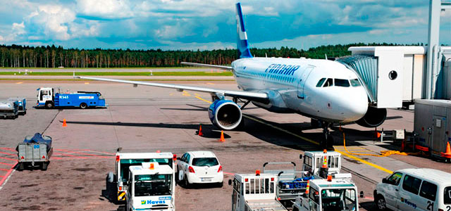 Helsinki-Vantaa International Airport (HEL) is the main international airport of Helsinki in Finland.