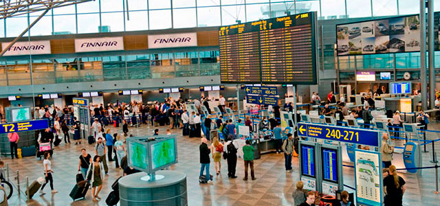 Helsinki Airport consists of two modern passenger terminals.